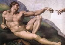 La creazione di Adamo secondo Michelangelo