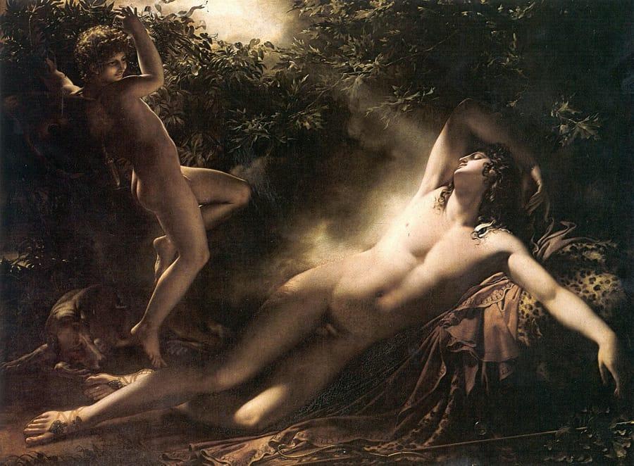 Il sonno di Endimione di Anne-Louis Girodet