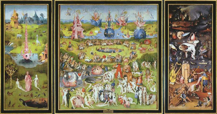 Trittico del Giardino delle delizie di Bosch