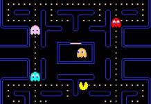 Una schermata di Pac-Man