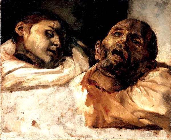 Teste di giustiziati di Géricault