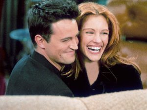 Julia Roberts e Matthew Perry in Friends