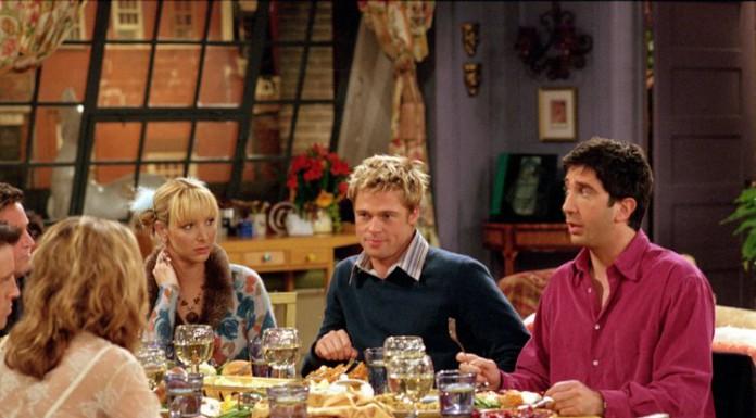Il celebre episodio in cui Brad Pitt fece da guest star in Friends