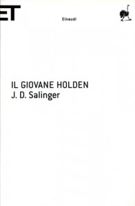 La copertina de Il giovane Holden di J.D. Salinger