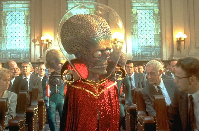 I marziani di Mars Attacks!