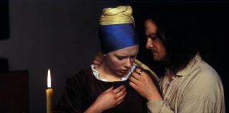 La ragazza con l'orecchino di perla con Scarlett Johansson