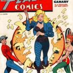 Black Canary sulla copertina di Flash Comics