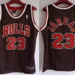 La maglia nera di Michael Jordan