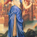 Cassandra in un dipinto di Evelyn De Morgan