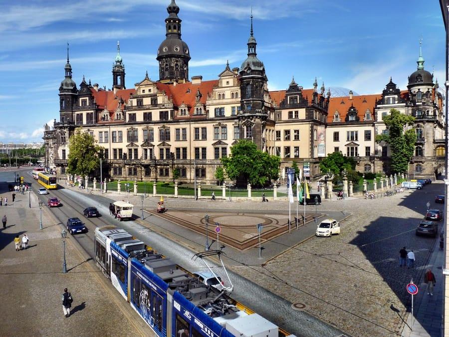 Il castello di Dresda