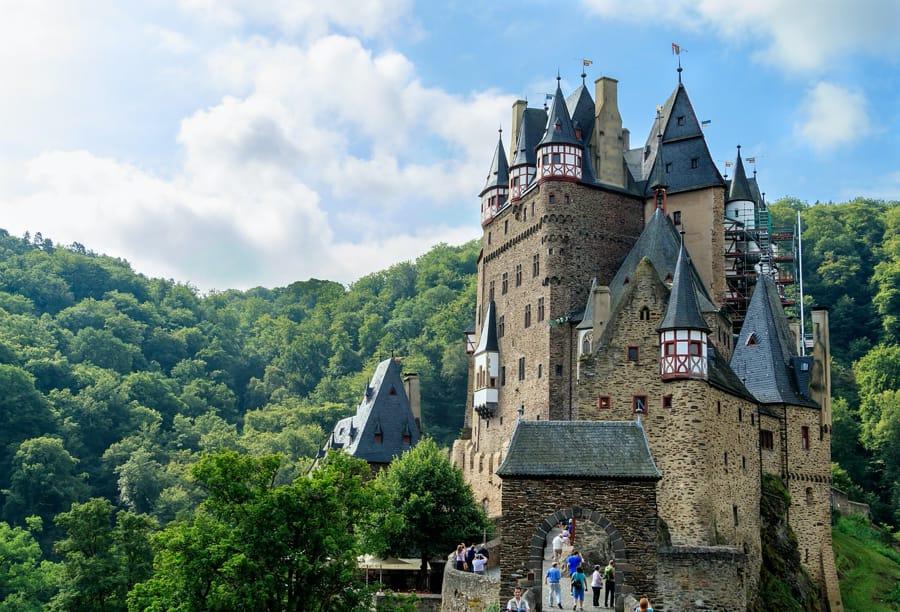 Il castello di Eltz in Germania