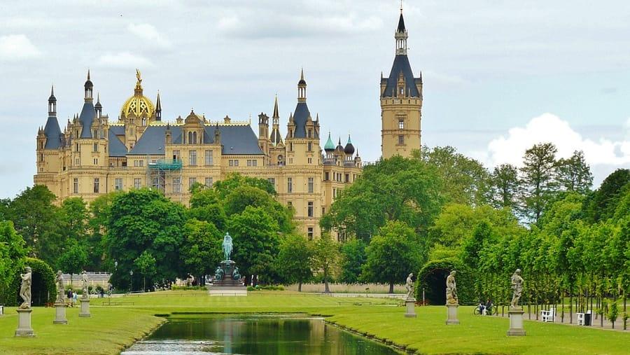 Il Castello di Schwerin in Germania