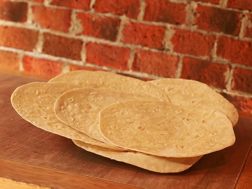 La tortilla vuota messicana
