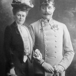 Sofia Chotek e l'arciduca Francesco Ferdinando