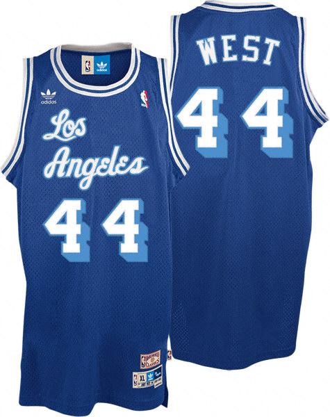 La maglia degli anni '60 di Jerry West