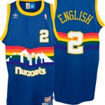 La maglia di Alex English dei Denver Nuggets