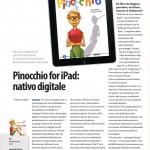 Un articolo dedicato all'app Pinocchio