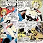 La prima apparizione di Power Girl