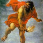 Prometeo ruba il fuoco in un dipinto di Jan Cossiers