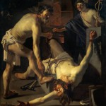 Prometeo incatenato in un dipinto di Dirck van Baburen