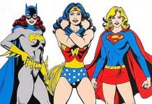 Batgirl, Wonder Woman e Supergirl, le tre supereroine più famose della DC Comics