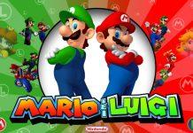 Super Mario e suo fratello Luigi, protagonisti di alcuni dei più celebri giochi della Nintendo