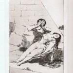 Tantalo in un disegno di Francisco Goya