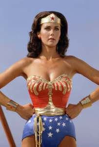 La Wonder Woman televisiva interpretata da Lynda Carter
