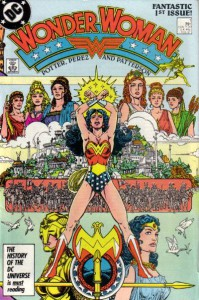 La riscrittura delle origini di Wonder Woman ad opera di George Perez