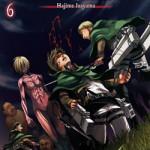 Copertina del sesto volume de L'attacco dei giganti