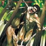 Copertina del settimo volume de L'attacco dei giganti