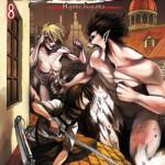 Copertina dell'ottavo volume de L'attacco dei giganti