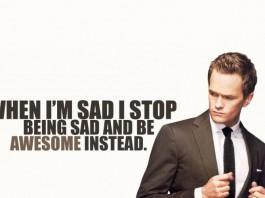 Una delle leggendarie frasi di Barney Stinson
