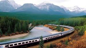 Un tipico panorama canadese