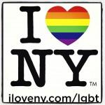 L'immagine condivisa da Andrew Cuomo con cui New York dà il suo sostegno alle coppie omosessuali