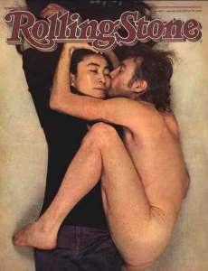 La copertina di Rolling Stone con John Lennon e Yoko Ono