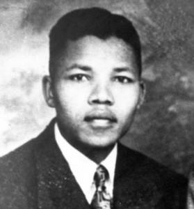 Nelson Mandela da ragazzo