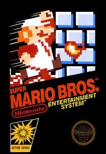 La copertina del primo Super Mario Bros.