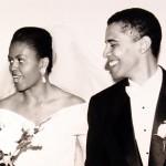 Barack Obama con la moglie Michelle