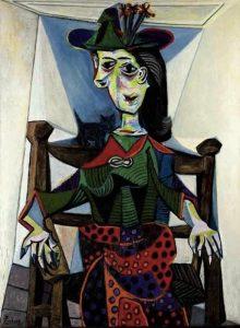 Dora Maar con gatto di Pablo Picasso