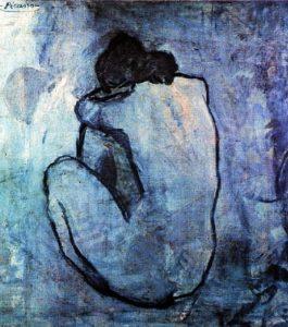 Nudo blu di Pablo Picasso