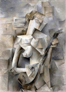 Ragazza con mandolino di Pablo Picasso