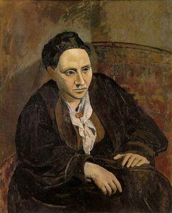 Il ritratto di Gertrude Stein di Pablo Picasso