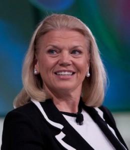 Ginni Rometty, CEO di IBM (foto di Asa Mathat / Fortune Live Media)