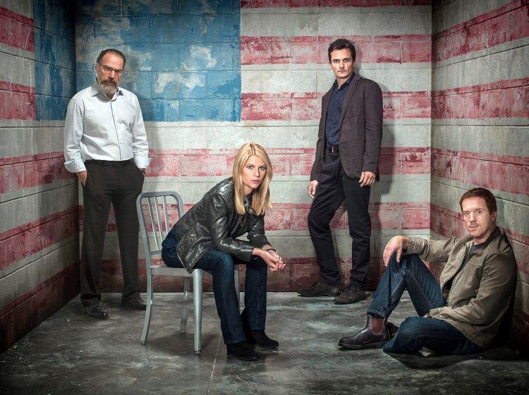 I protagonisti delle prime stagioni di Homeland, bella serie TV ambientata nel mondo delle spie