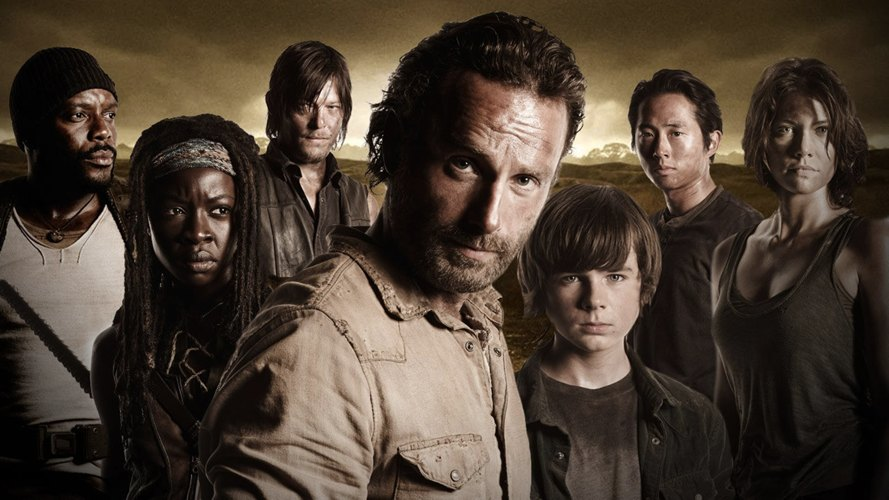 I protagonisti di The Walking Dead, una delle serie TV più belle del 2013