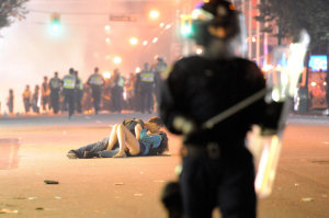 The Vancouver Riot Kiss