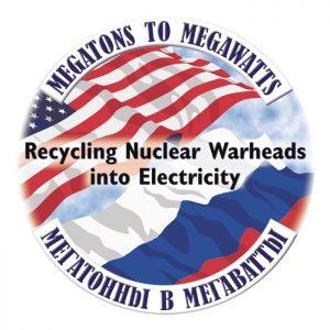 Il logo dell'iniziativa Megatons to Megawatts