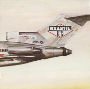 La copertina di Licensed to Ill dei Beastie Boys