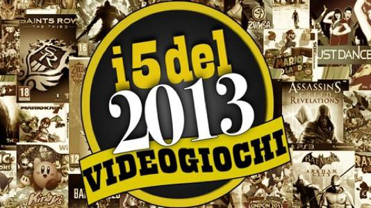 I 5 videogiochi del 2013